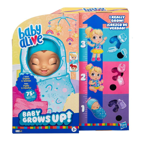 Baby Alive Baby Grows Up Happy - Toyworld