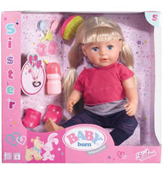 Baby Born Interactive Sister Doll - Toyworld