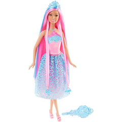 Barbie Endless Hair Doll Pink 1 - Toyworld