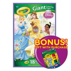 Crayola Giant Coloring Pages Disney Princess Img 1 - Toyworld