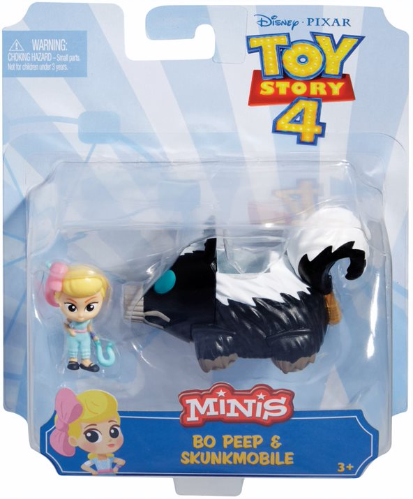 TOY STORY 4 MINIS BO PEEP AND SKUNKMOBILE