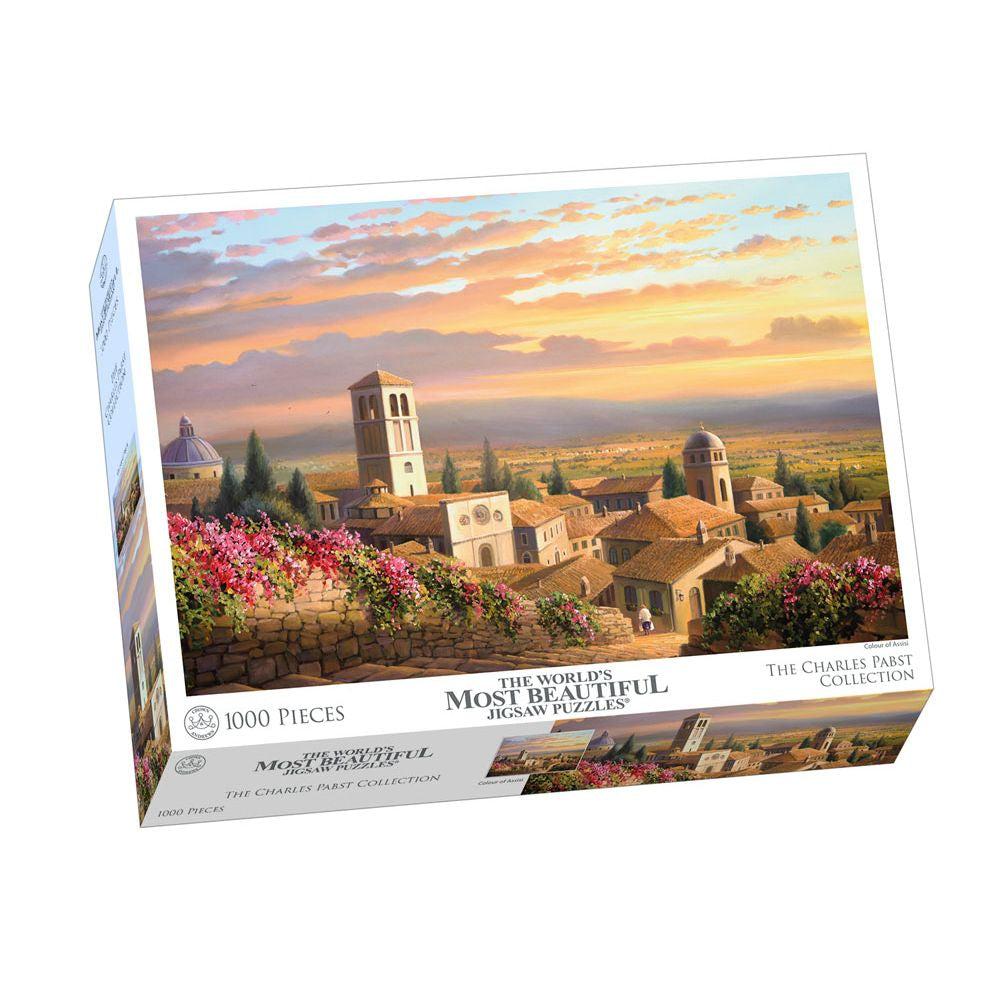 Charles Pabst 1000 Piece Colour Of Assisi - Toyworld
