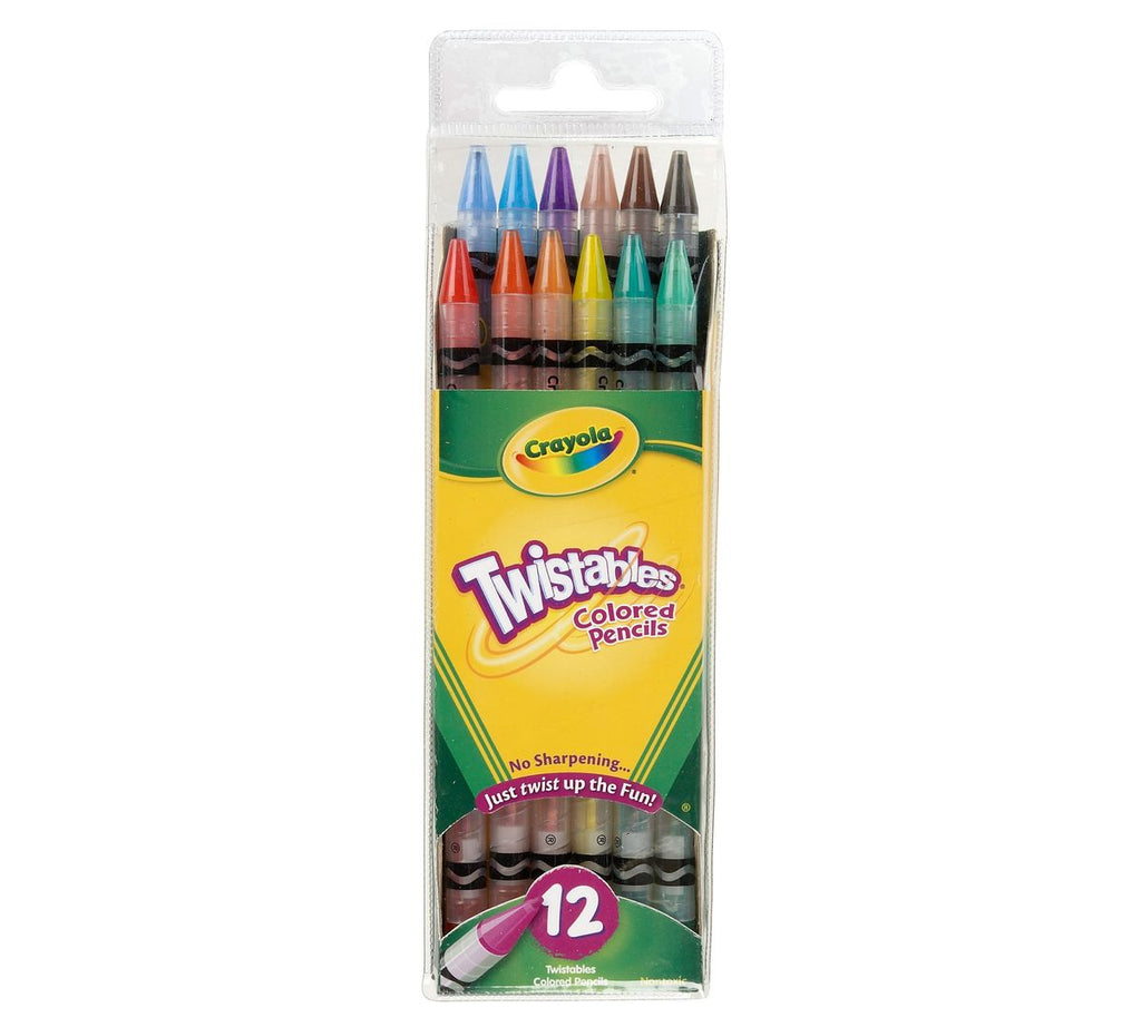 Crayola Twistables Colored Pencils 12 Pack - Toyworld