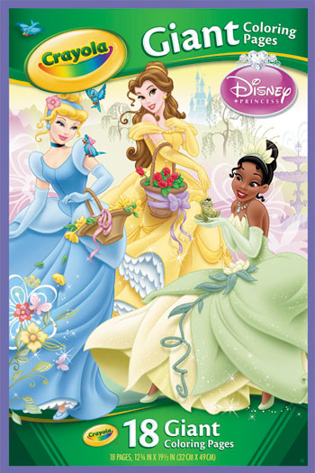 Crayola Giant Coloring Pages Disney Princess Toyworld