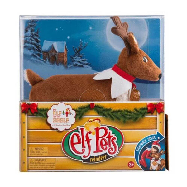 Elf Pets A Reindeer Tradition - Toyworld