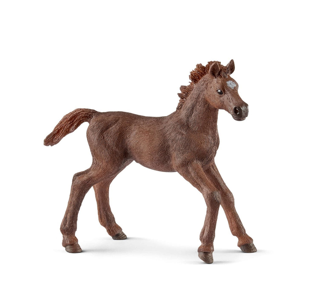 SCHLEICH ENGLISH THOROUGHBRED FOAL