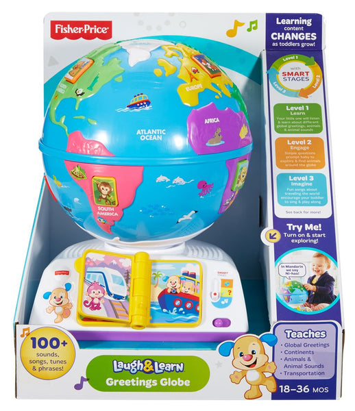 FISHER PRICE GREETINGS GLOBE