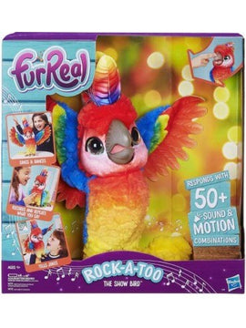 Fur Real Friends Rock A Too The Show Bird - Toyworld