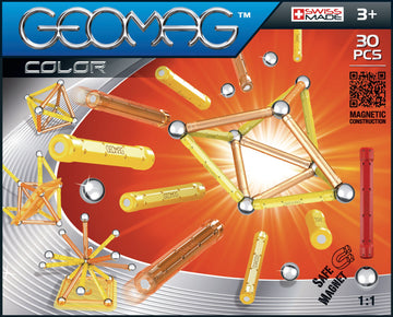 Geomag Color 30 Pieces - Toyworld