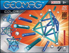 Geomag Color 40 Pieces - Toyworld