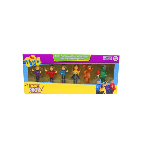 THE WIGGLES FIGURINES 6 PACK