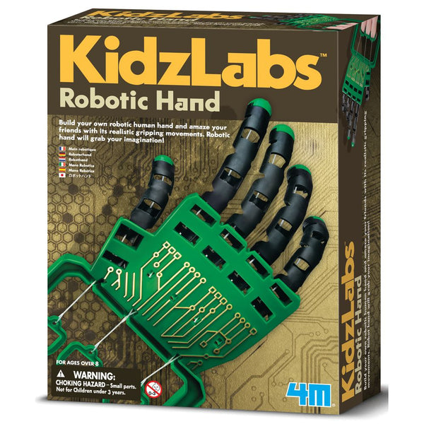 4M Science Kidz Labs Robotic Hand - Toyworld