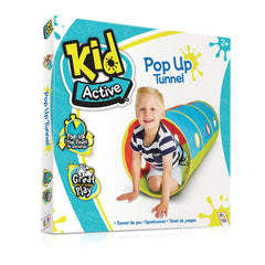 Kid Active Pop Up Tunnel Img 3 - Toyworld