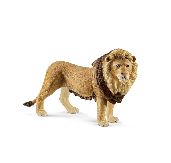 Schleich Lion Yellow Dot - Toyworld