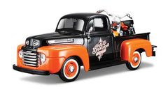 Maisto Pick Up With Motorcycle Assorted Styles Img 1 - Toyworld