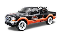 Maisto Pick Up With Motorcycle Assorted Styles Img 4 - Toyworld