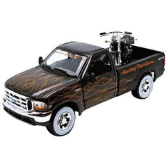 Maisto Pick Up With Motorcycle Assorted Styles Img 3 - Toyworld