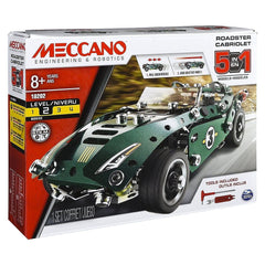 Meccano 5 Model Set Roadster - Toyworld