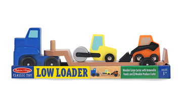 Melissa Doug Classic Toy Low Loader - Toyworld