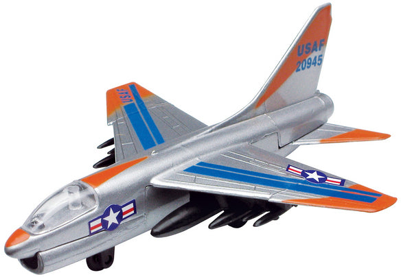 Motor Max Sky Wings 11cm Single Plane Assorted Styles - Toyworld