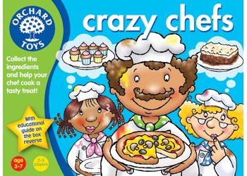 Orchard Toys Crazy Chefs Game - Toyworld
