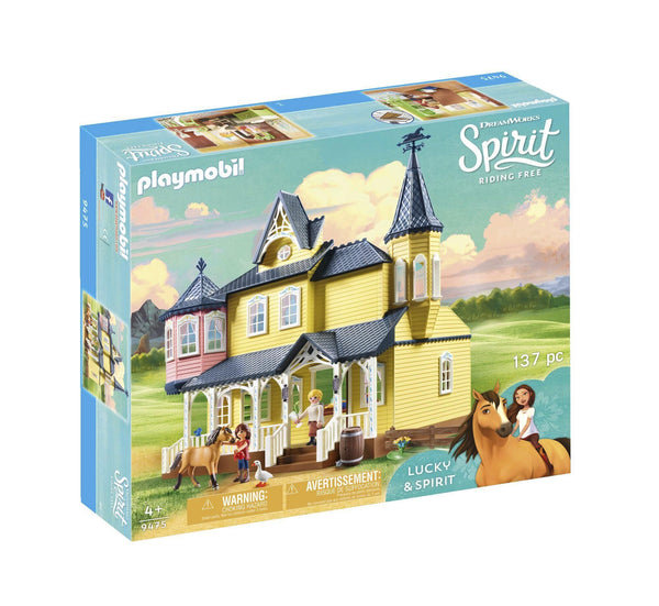 PLAYMOBIL SPIRIT LUCKYS HAPPY HOME
