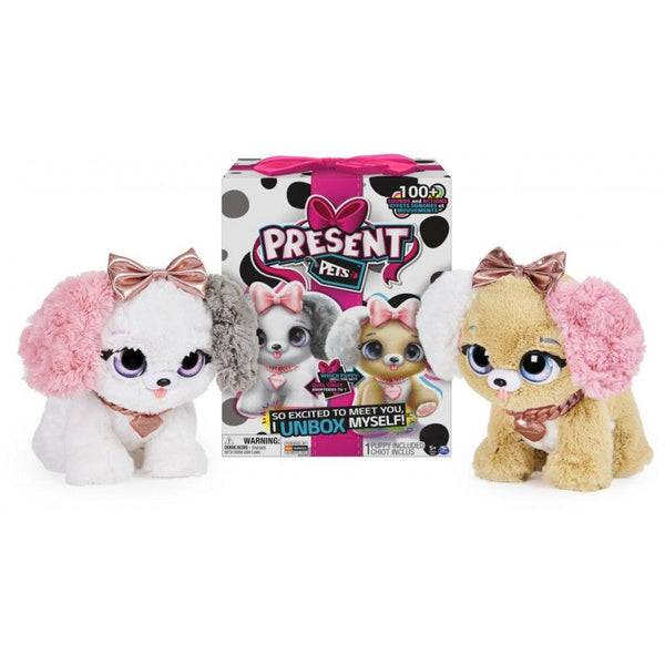Present Pets Rose Gold Chic Pups - Toyworld