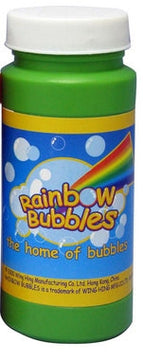 Rainbow Bubbles 4Oz 118Ml Bubble Solution Assorted Styles - Toyworld