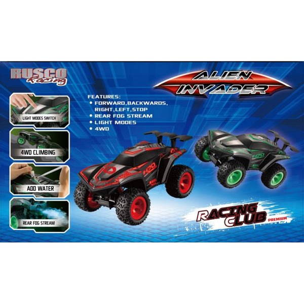 Rusco Racing Alien Invader - Toyworld