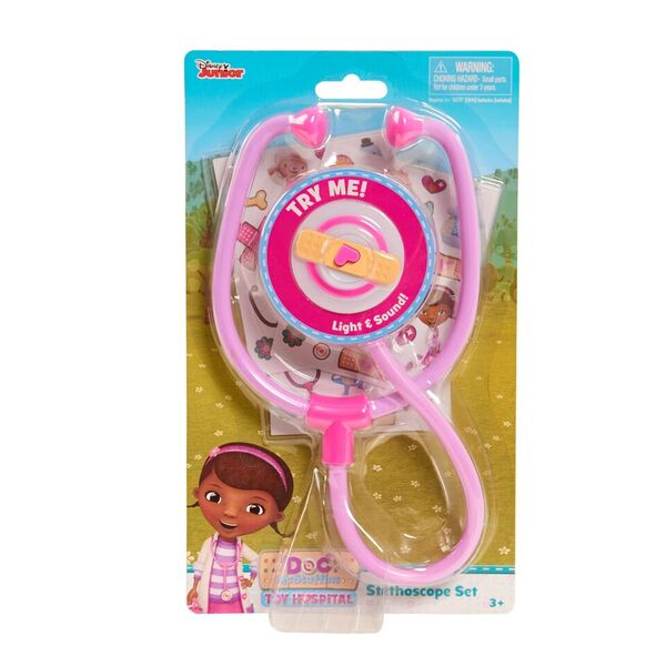 Disney Doc Mcstuffins Toy Hospital Stethoscope - Toyworld