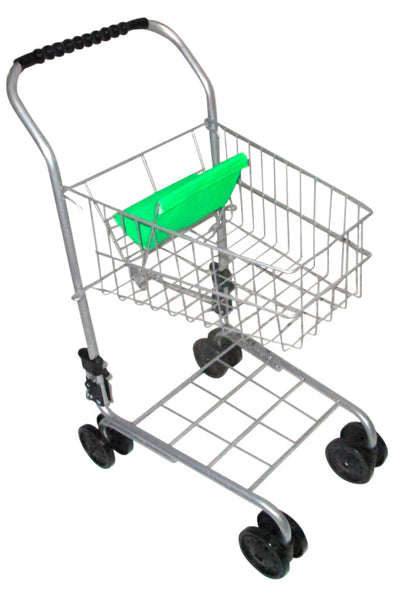 Playworld Metal Shopping Trolley - Toyworld