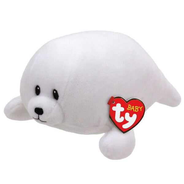 TY BEANIE BOO REGULAR TINY WHITE SEAL