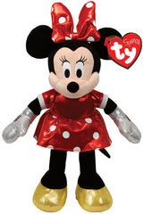 BEANIE BOO REGULAR MINNIE MOUSE RED SPARKLE