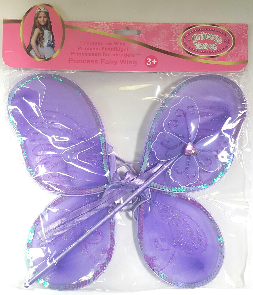 Princess Secret Princess Fairy Wings Assorted Styles - Toyworld