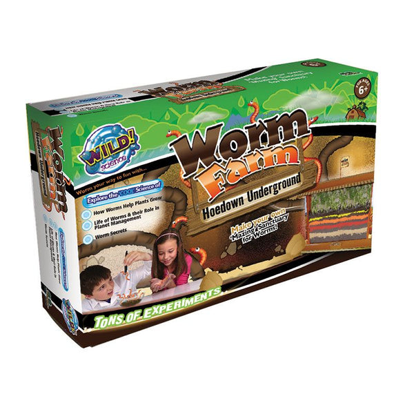 WILD SCIENCE WORM FARM LARGE