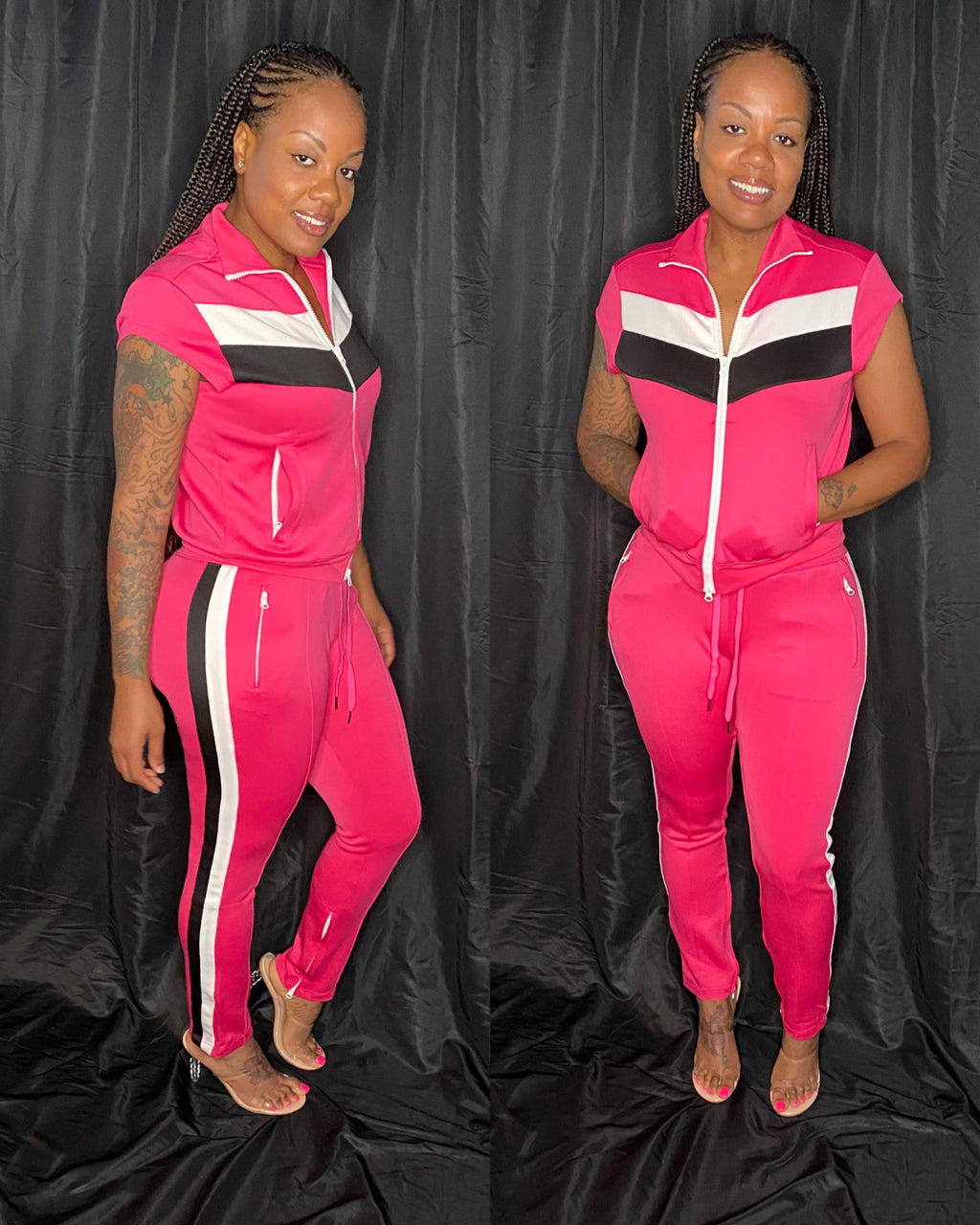 HOT PINK TRACKSUIT