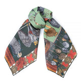 Dog's Treasure Small Silk Scarf