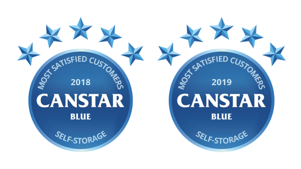 canstar self storage 2018 and 2019
