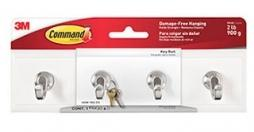 3M Command Quartz Key Rail-Storage King