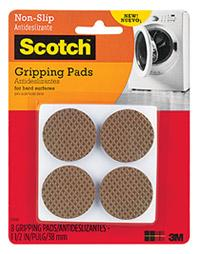 3M Scotch Gripping Pads Brown 3.8cm-Storage King
