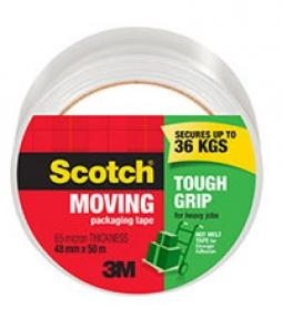 3M Scotch Tough Grip Moving Tape 50m-Storage King