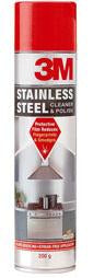 3M Stainless Steel Cleaner & Polish 200g-Storage King