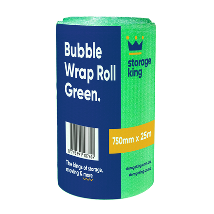 Bubble Wrap 750mm x 25m (Green)