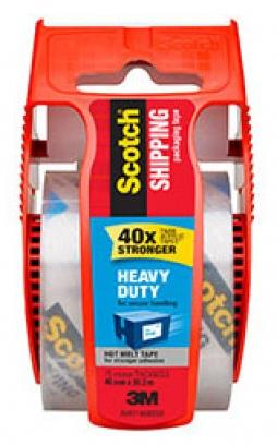 Heavy Duty Shipping Tape Clear-Storage King