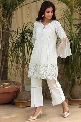 Mint Pearl Kurta Set
