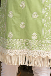 Fern Ditzy Fringe Cotton Set