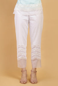 Pearl Chevron Lace Pants