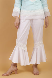 Pearl Flare Lace Pants
