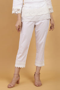 Pearl Essential Lace Pants