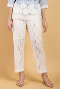 Pearl Lace Body Pants
